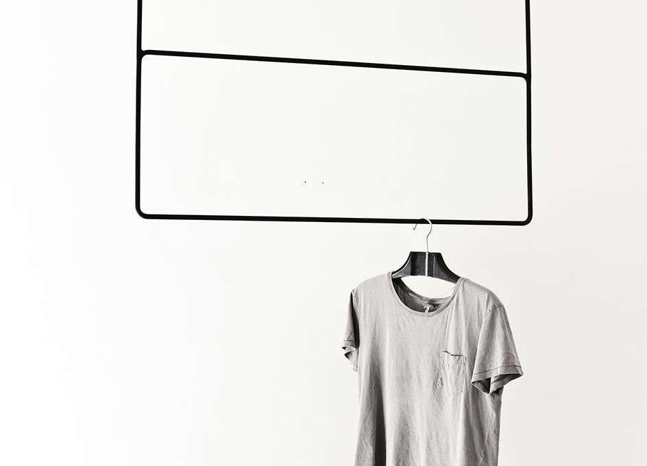 kleiderstange l form schwarz ostseesuche com. Black Bedroom Furniture Sets. Home Design Ideas
