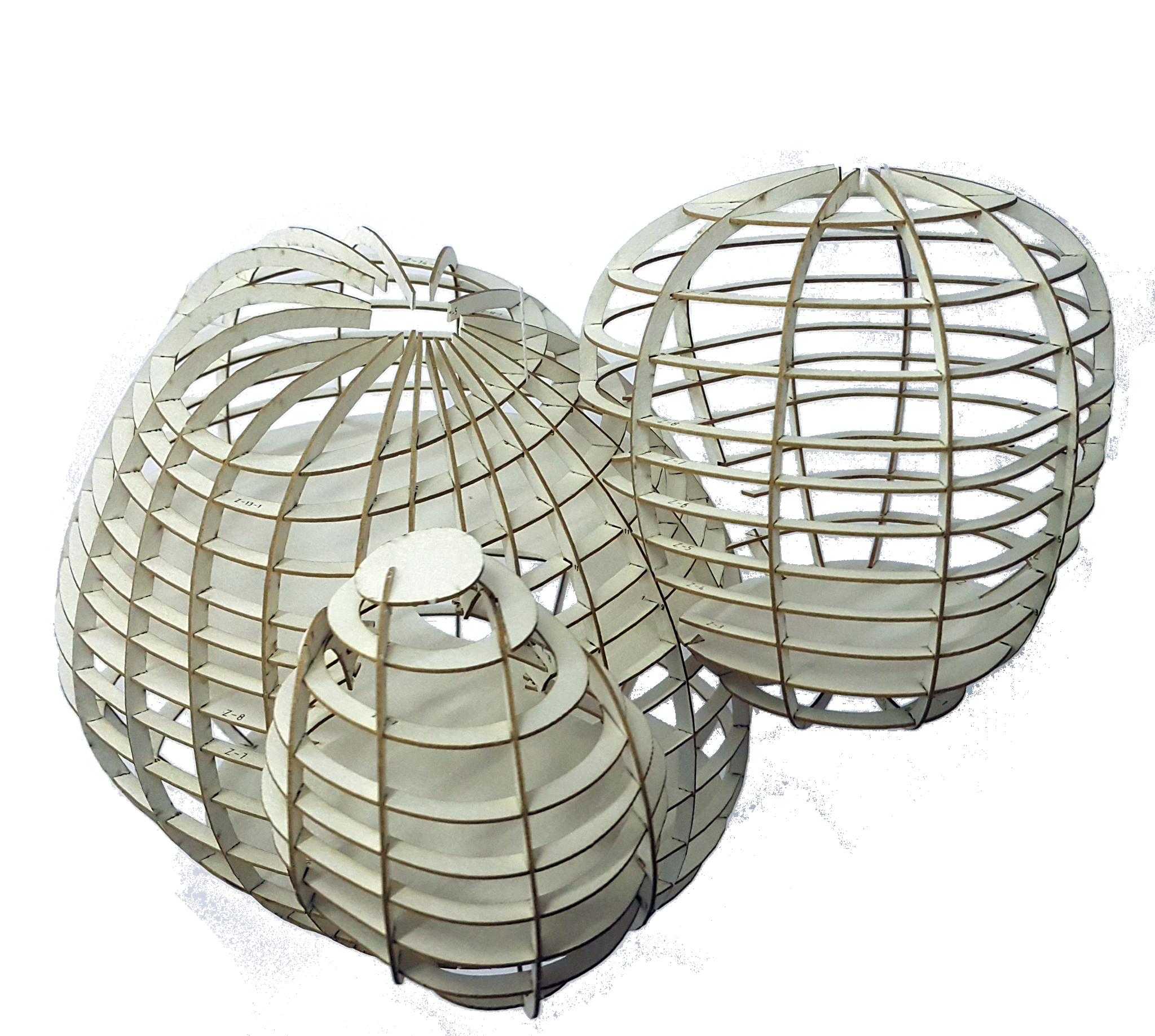 PLUG-IN Symbiotic/Parasitic Capsule Living Structure, 123D Make Cardboard Model - Student Project 2015, Shenkar, Israel, AK Design www.annakislitsina.com