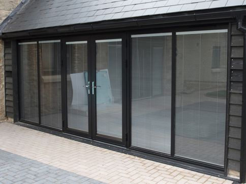 black-aluminium-french-doors-peterborough & black-aluminium-french-doors-peterborough | Dream Home | Pinterest ... Pezcame.Com