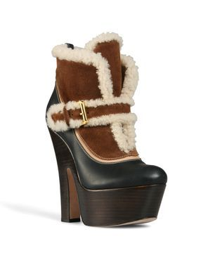 Women's Ankle boot...more like Break an Ankle boot on the ice in winter!