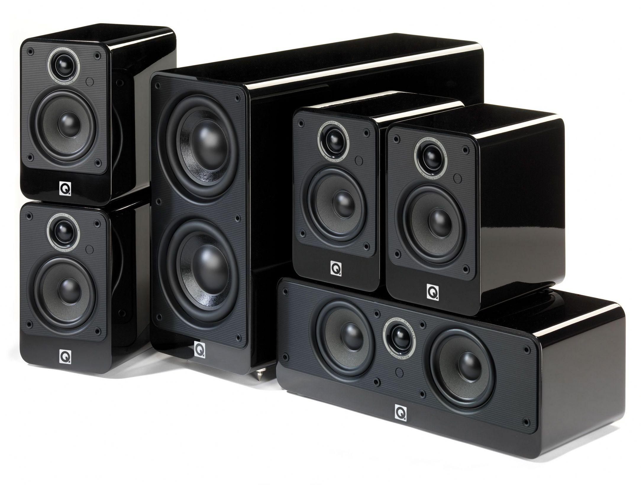 Loudspeaker Acoustics Acoustics Q2000i 5.1 Loudspeaker