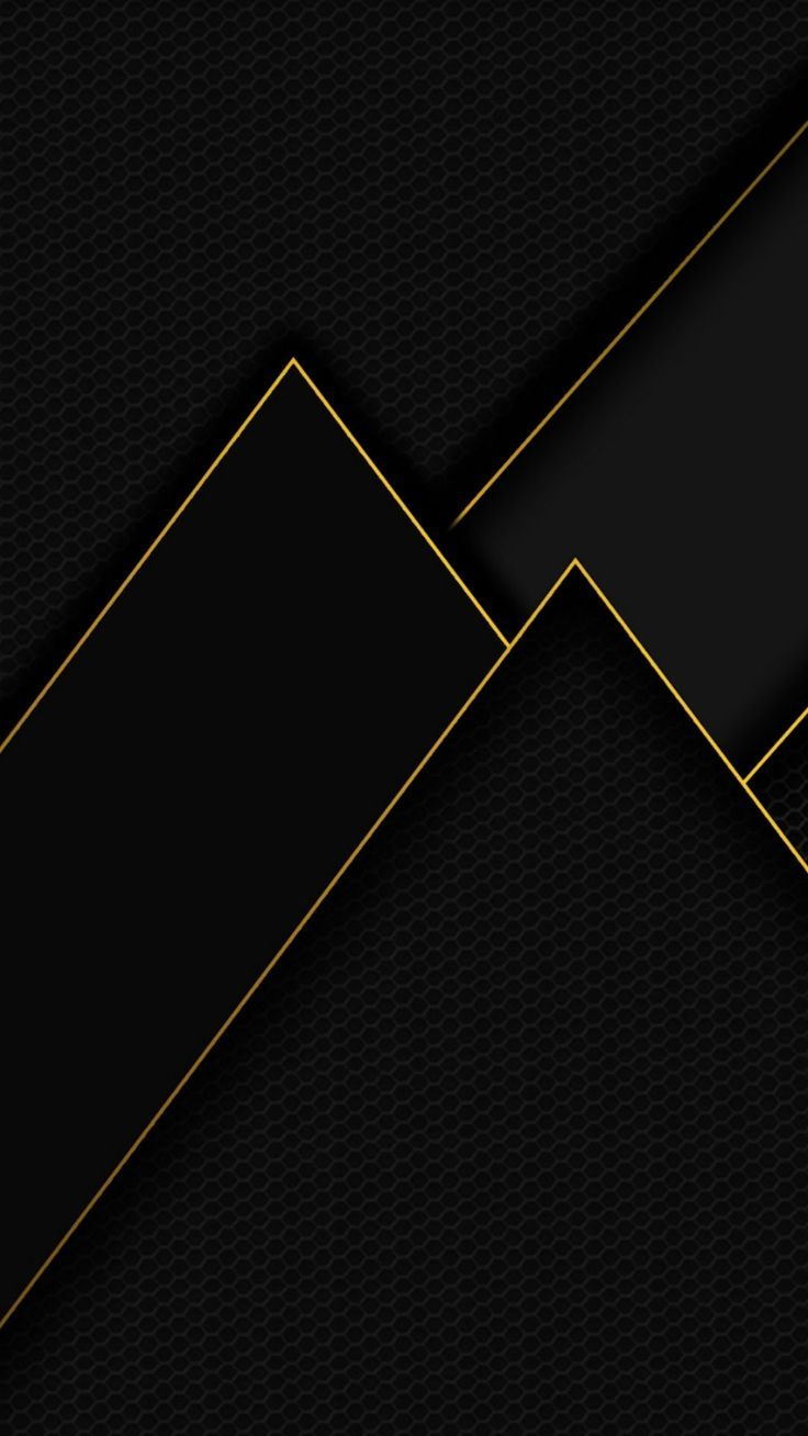 Black With Gold Trim Wallpaper Black Wallpaper Is An Android App For Phones And Tablets Which Contain Blac Gold Geometric Wallpaper Black Wallpaper Geometric