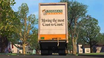 Eggman Movers White Truck Moving Company Eggman