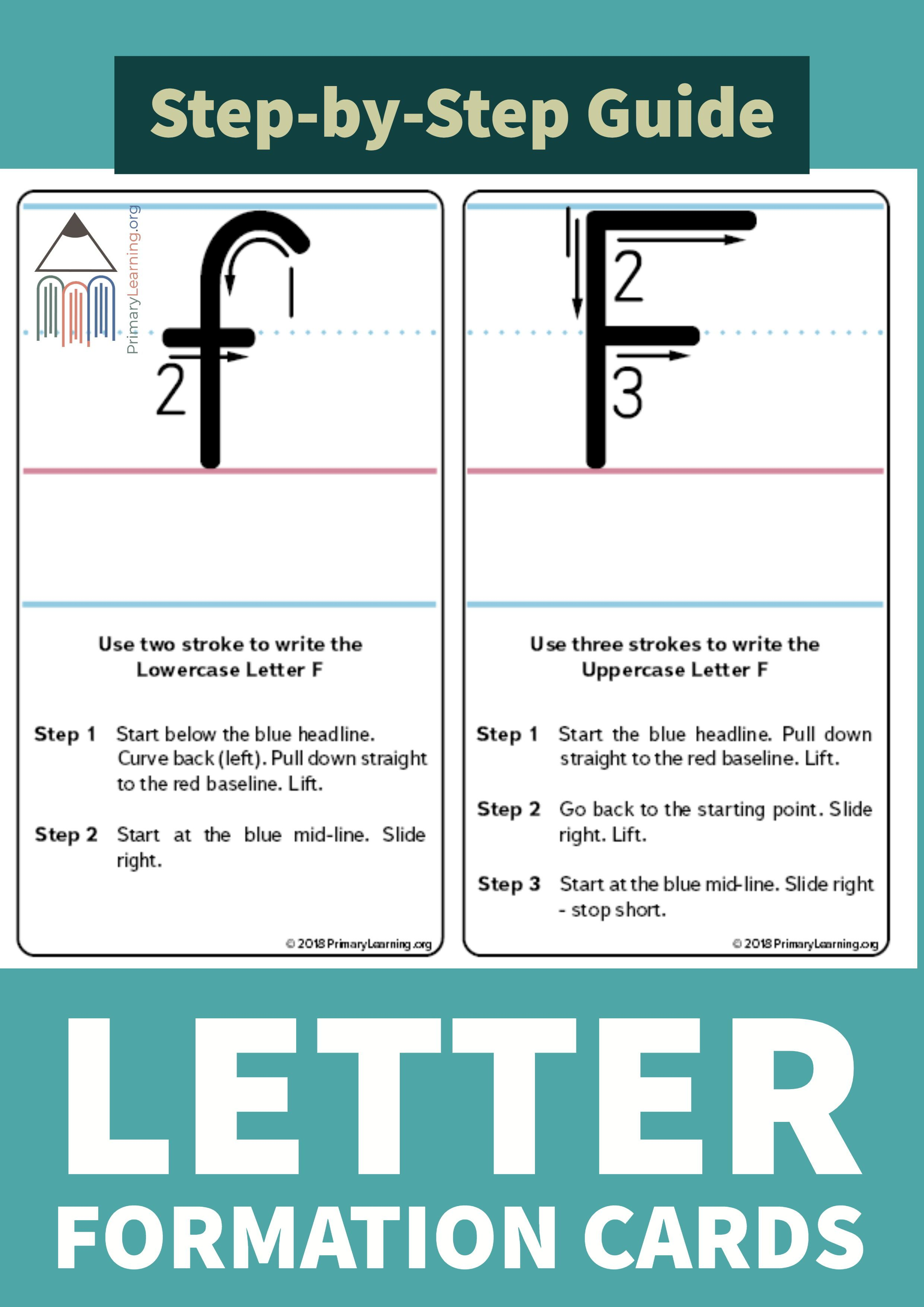 How To Write The Letter F
