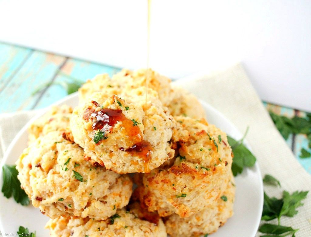 Maple Bacon and Cheddar Buttermilk Biscuits