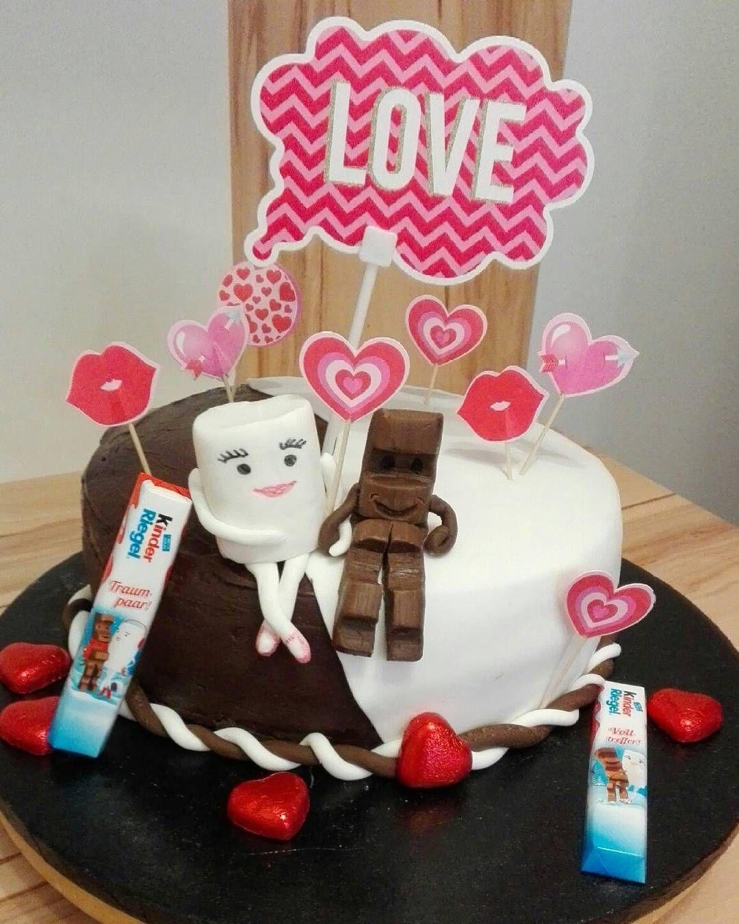 Valentinstagstorte Aufdieliebe Valentinstag Torte
