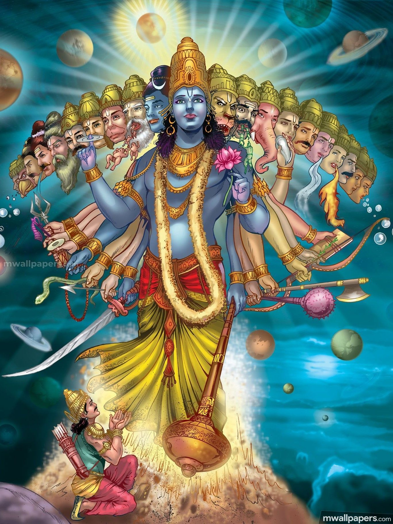 Lord Vishnu Hd Images 1080p 17185 Lordvishnu God Hindu Hdimages Hdwallpapers Lord Vishnu Wallpapers Lord Krishna Wallpapers Lord Krishna