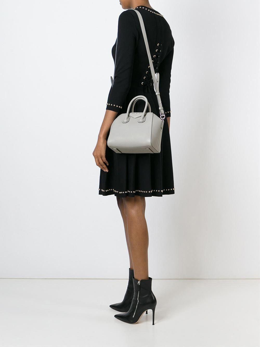 34dcf8510e97 Givenchy Antigona Mini Bag Grey  Designerhandbags  Givenchy sAntigonapurses   greyhandbags