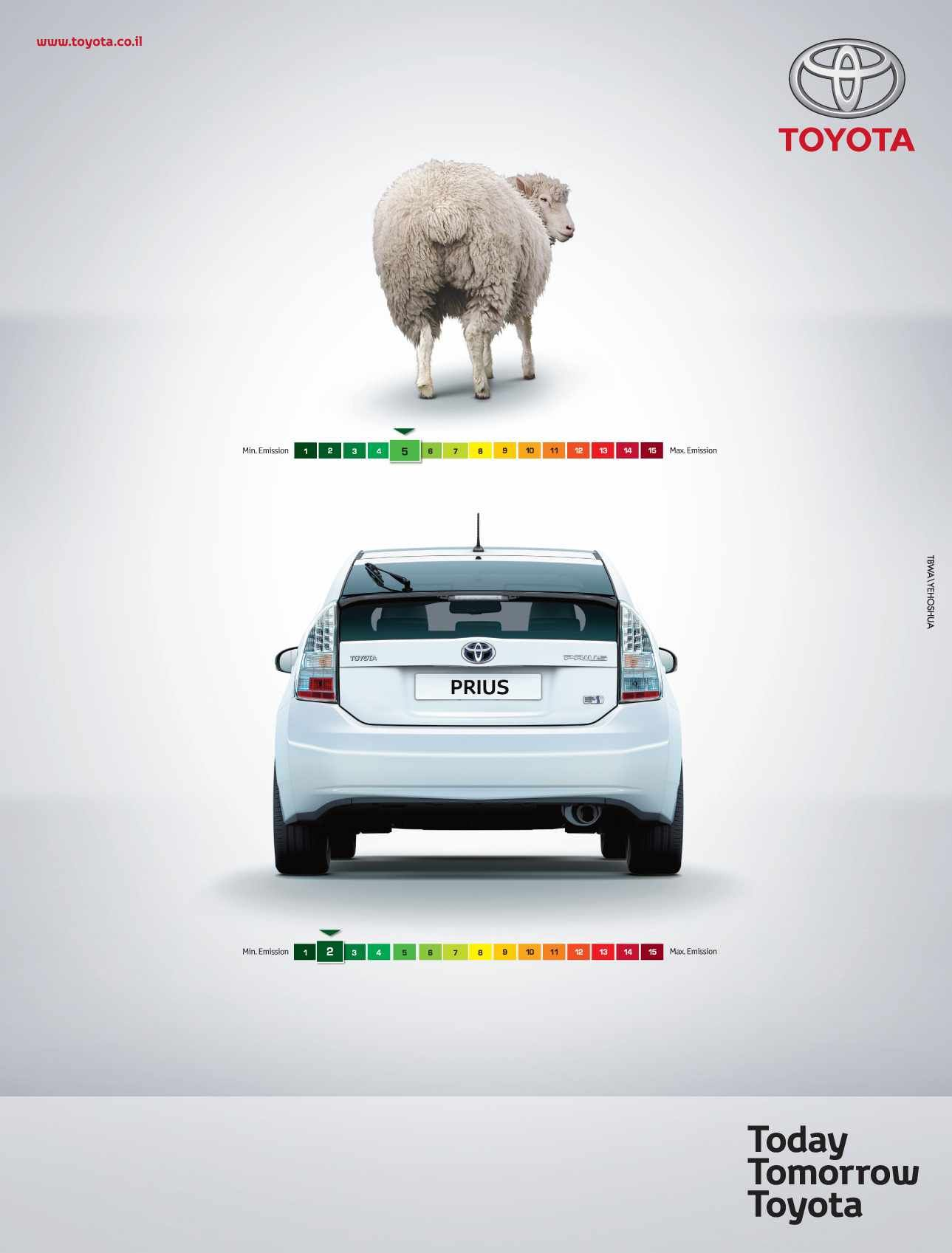 Toyota Prius Hybrid Sheep S Great Ads Car Advertising Creative