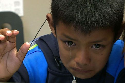 A Wonderful Story! A Seven-Year-Old Boy Hears for the First Time - Video - TIME.com