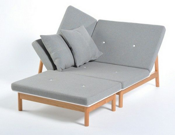Chaiselongue sofa lounge möbel grau Terrasse Pinterest Sofa - loungemobel garten grau