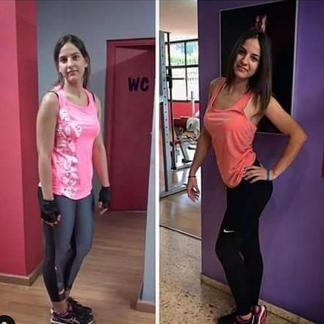 Hoy visita con Sara !! Volvemos a la cargaaaaaaaa #fittness #gymlife #fitnessmotivation #gymmotivati...