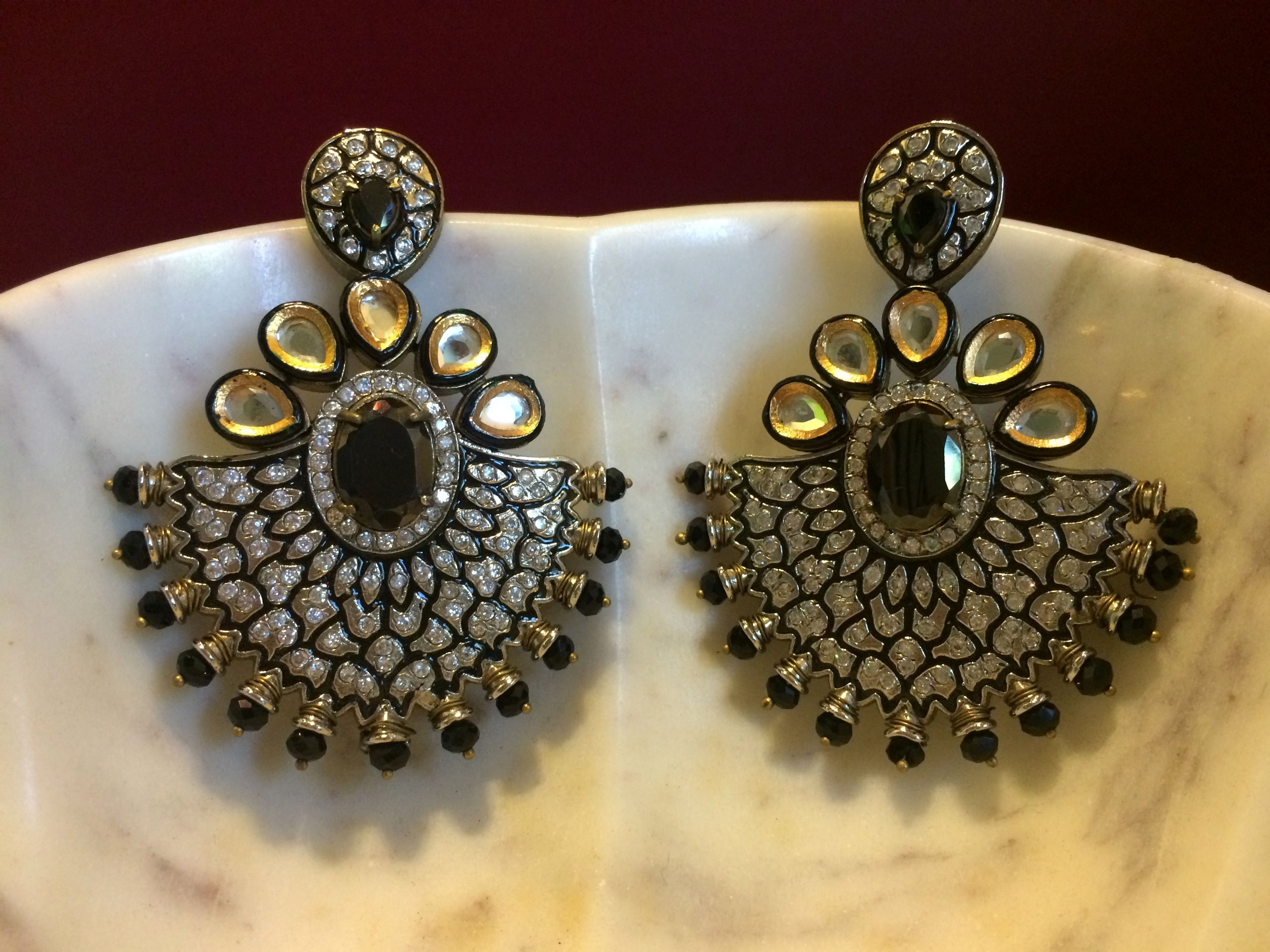 earrings ade diamond dwarkesh american jewels product