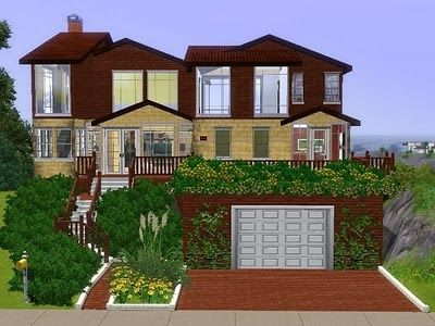 My Sims 3 Blog Humble House By Lili Sims House Sims House Design Sims House Plans