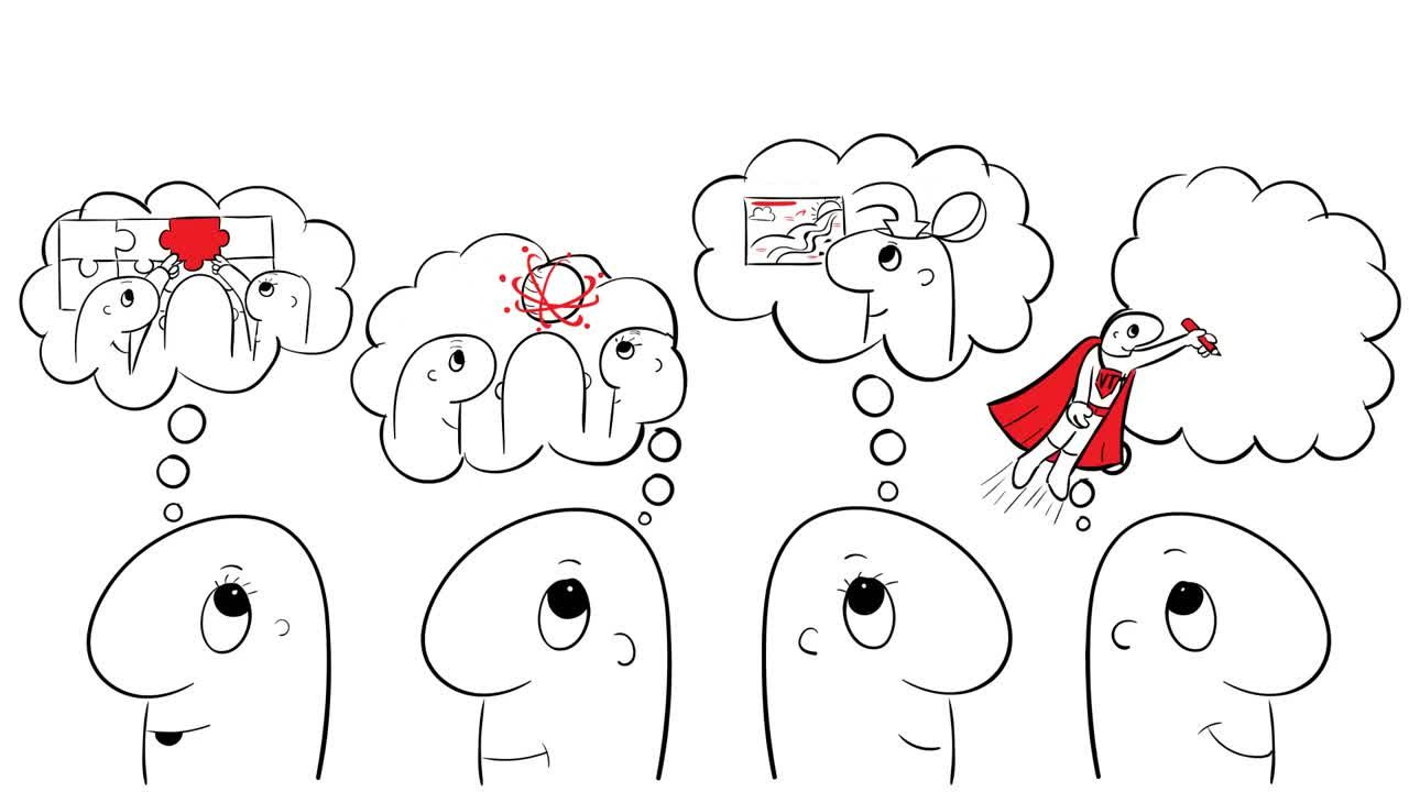 visual thinking: solve problems collaboratively, more