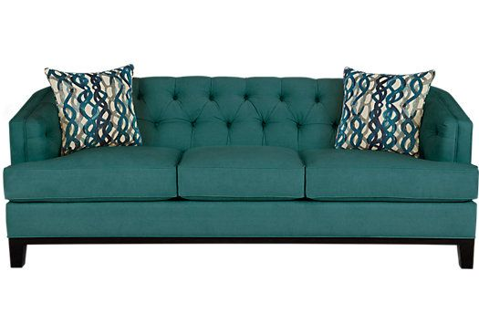 Shop For A Chicago Teal Sofa At Rooms To Go. Find Sofas That Will Look