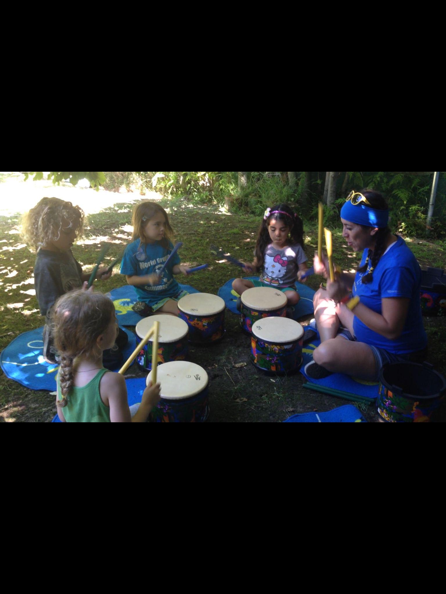 summercamp bailabailaviaja drums music cuba kids