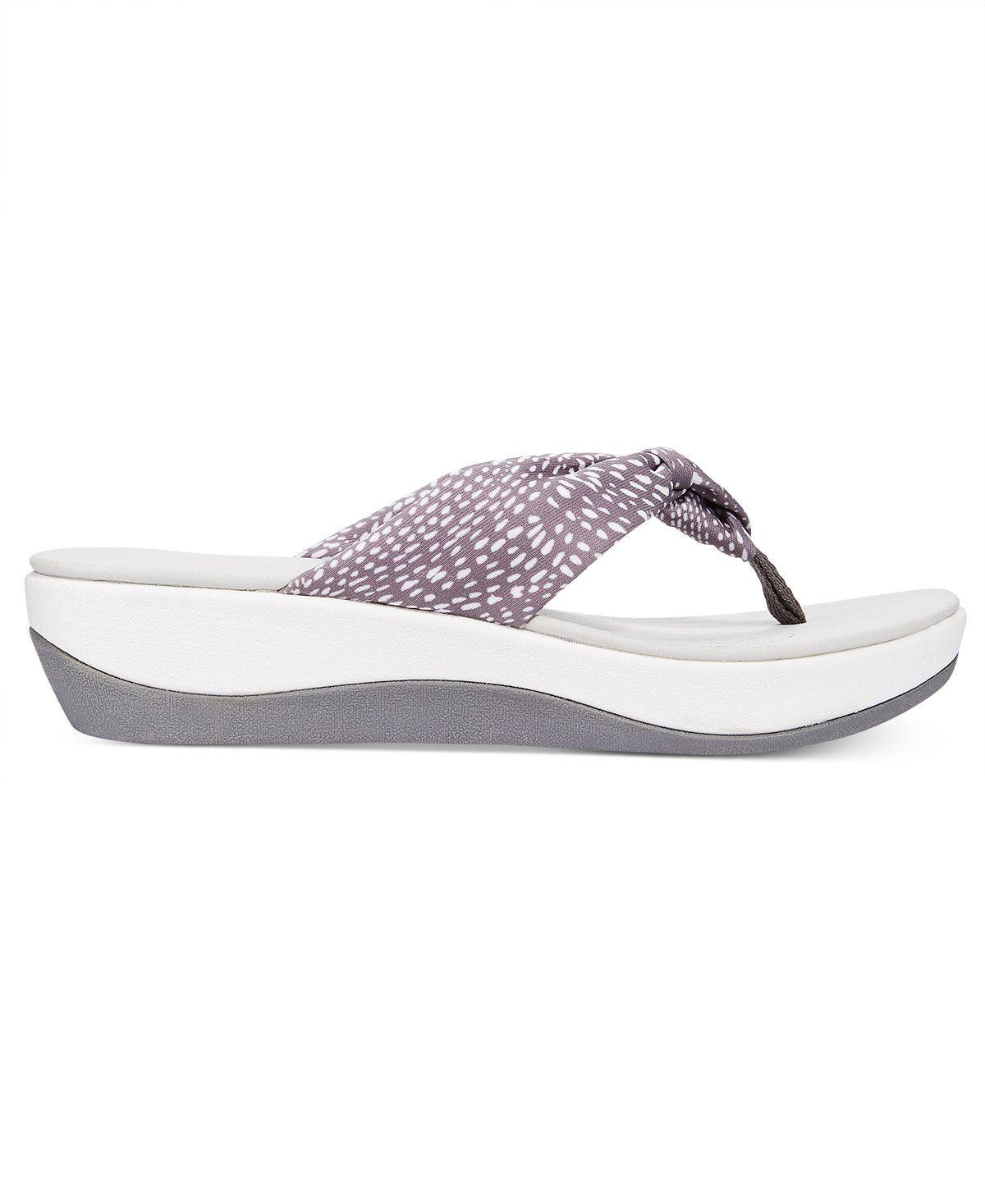 a286f9cc0f00 Clarks Collections Women s Arla Glison Flip-Flops - Sandals - Shoes - Macy s