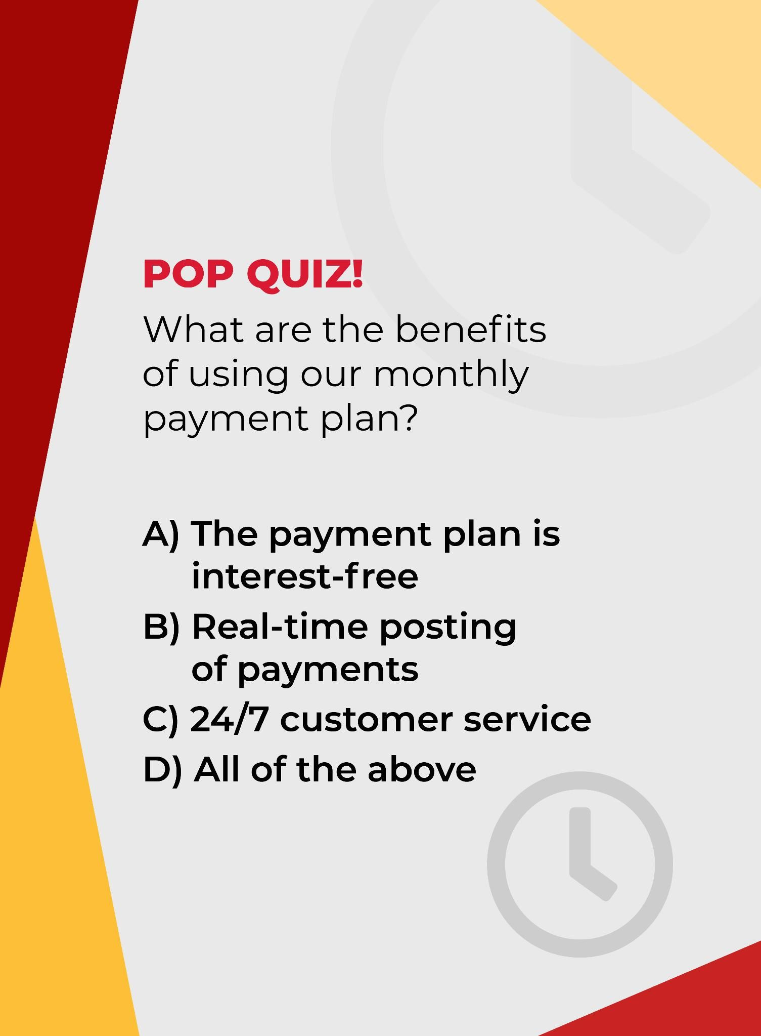 Time For A Pop Quiz What Do You Think The Right Answer Is Leave Your Choice In The Comments Pop Quiz Quiz How To Plan