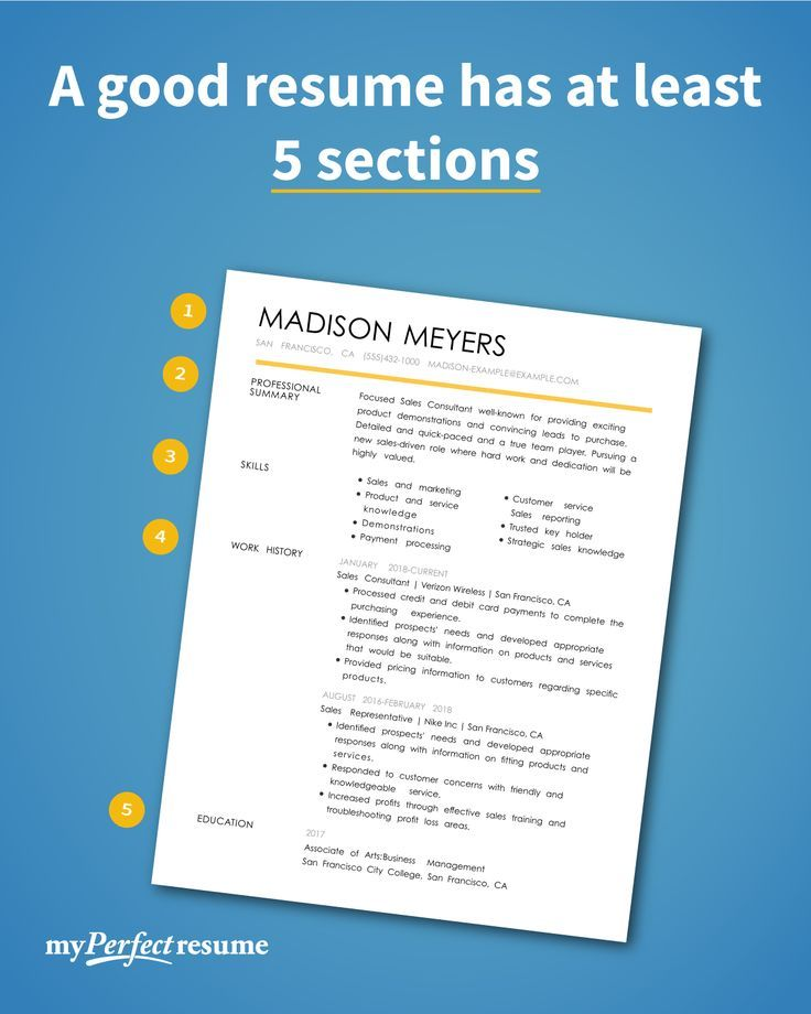 Top Tips to Make Your Resume Sections Stand Out in 2020