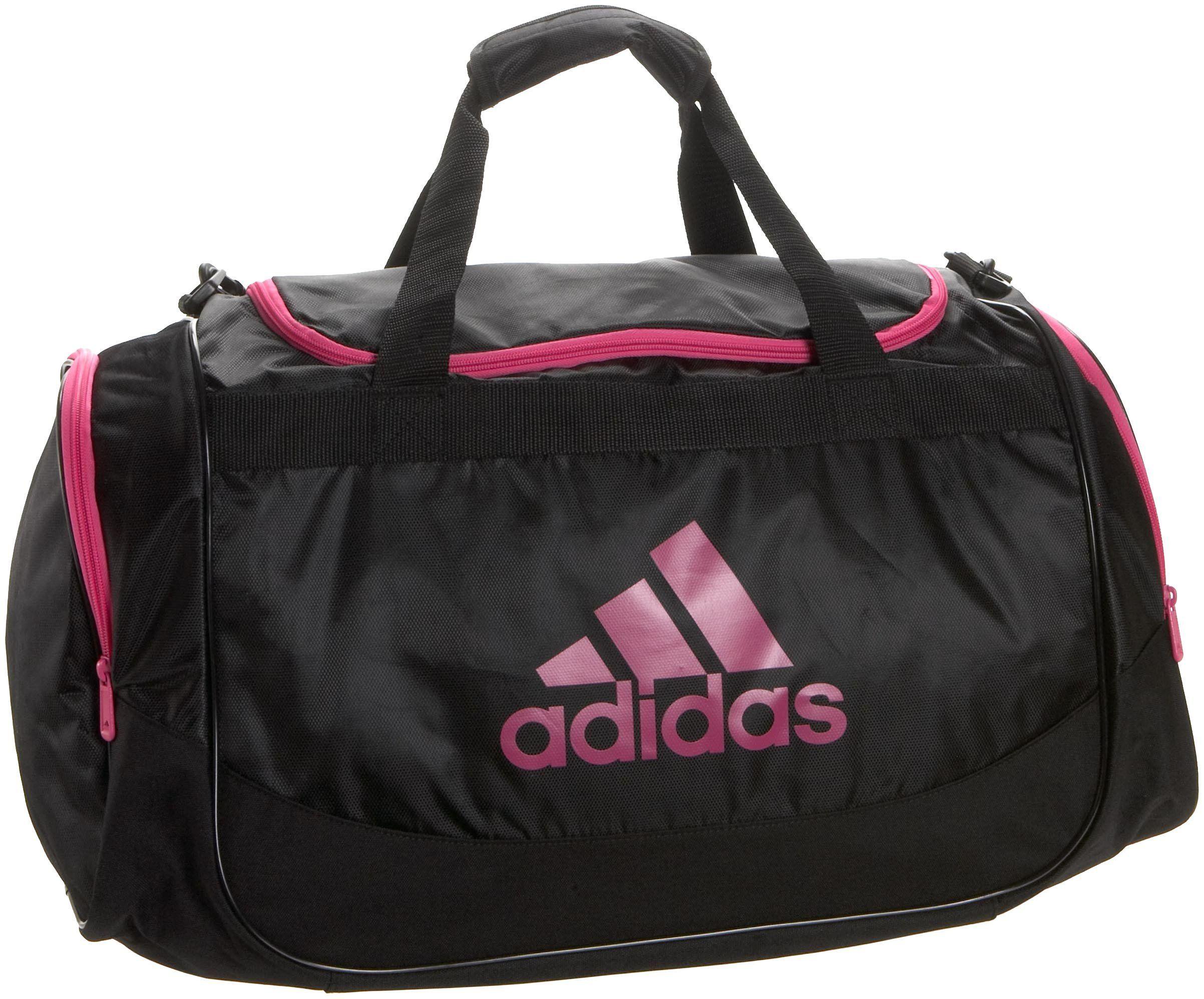 Adidas Defender Medium Duffel One Size 13 X 24 12 Inch Sports Outdoors