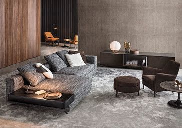 Minotti 2013 Collection Modern Sectional Sofa