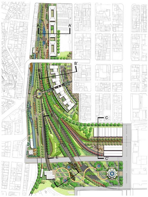 Gallery of kaohsiung port station urban design winning for Garden design proposal