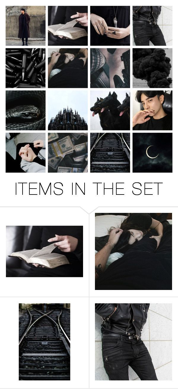 """""""black as time"""" by raresnow ❤ liked on Polyvore featuring art"""