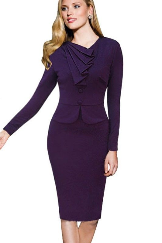 Formal office dress for ladies !