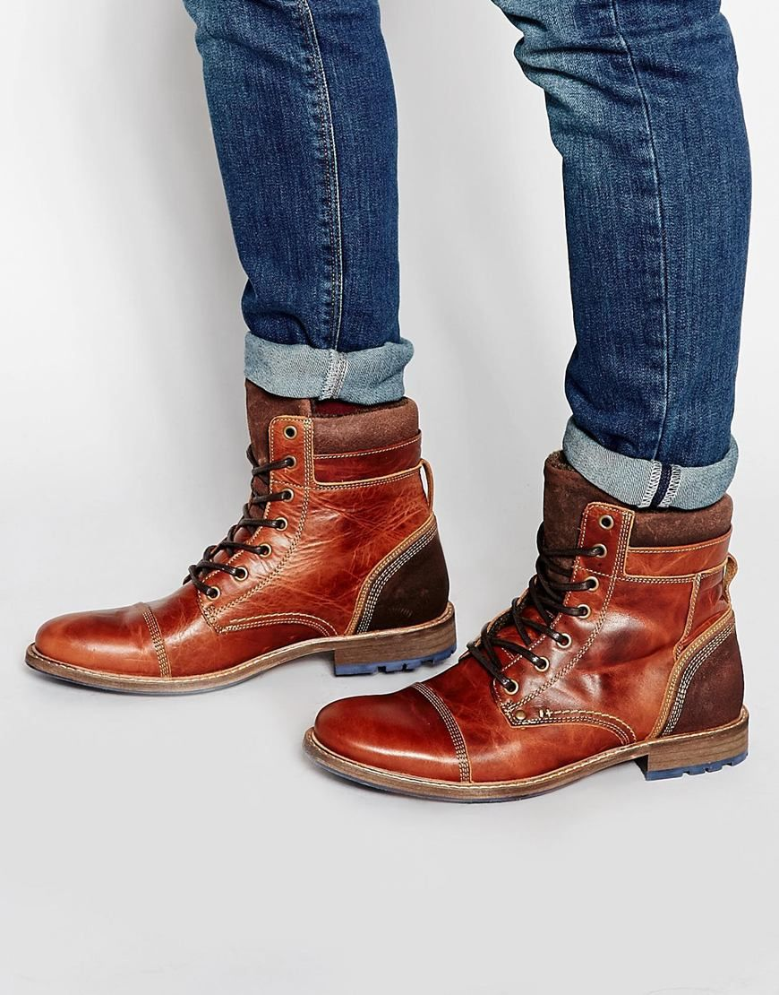 ALDO Croawia Leather Boots, $147