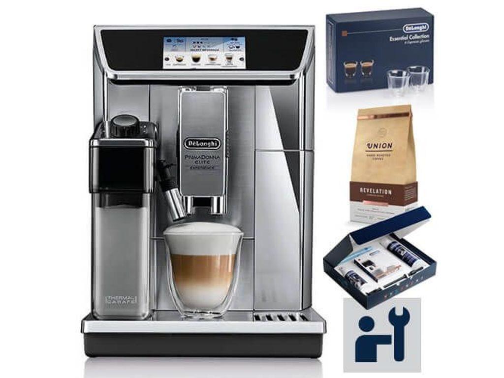 Delonghi Primadonna Elite 650 85 Bean To Cup Coffee Machine With Free Gifts Delonghi Coffee Machine Cooking Kitchen