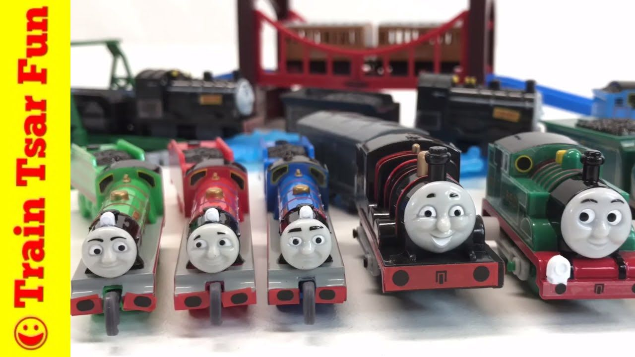 Original Thomas And Introducing James Wind Up Gashapon Capsule Train Unb Thomas The Tank Engine Thomas The Tank Toy Car