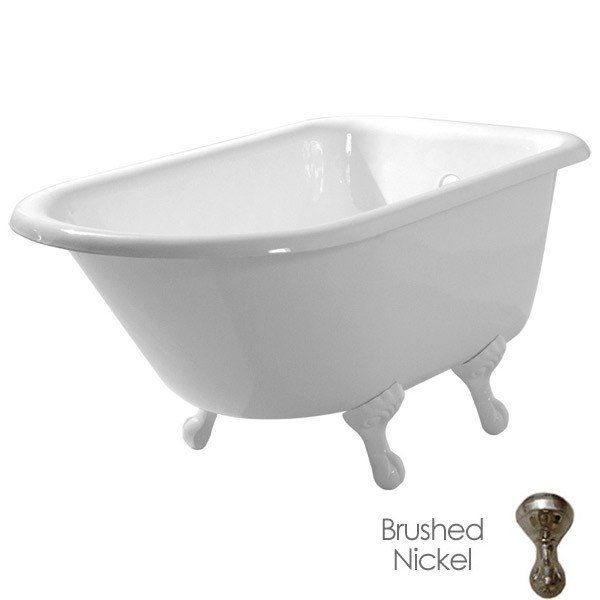 Norfolk 48 Inch Cast Iron Classic Clawfoot Tub No Faucet