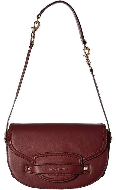 67848af9190afd MICHAEL Michael Kors Cary Medium Saddle Bag | Products | Bags ...