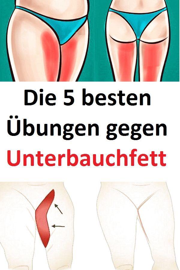 Die 5 besten Übungen gegen Unterbauchfett #Unterbauchfett #Übungen -  fitness motivation - #besten #...