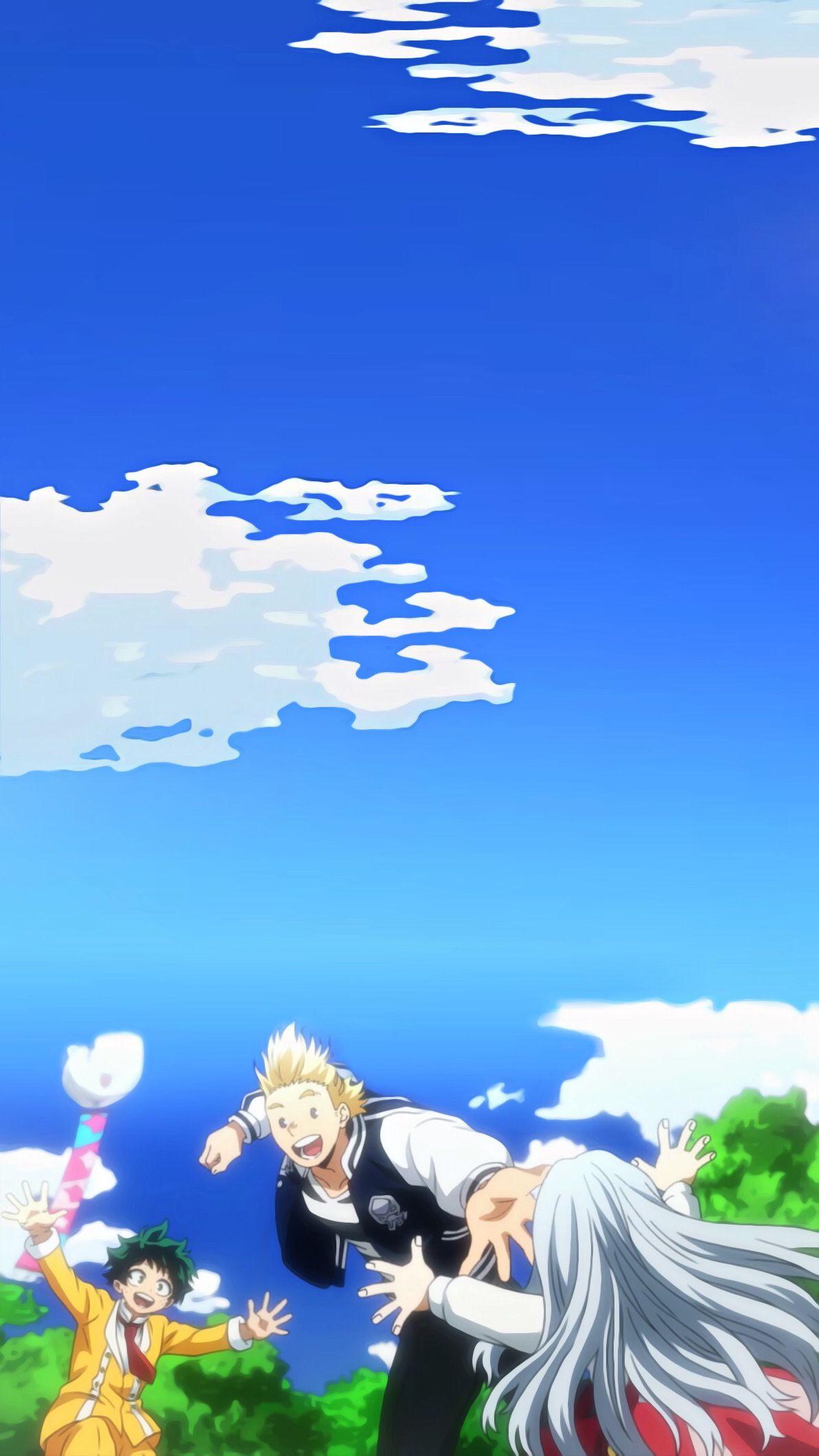 Deku Lemillion Eri Aesthetic Wallpaper Hero Wallpaper Anime Background Anime Wallpaper