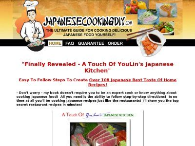 A Touch Of Youlin's Japanese Kitchen - Japanese Cookbook