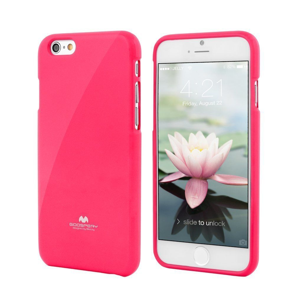Iphone 6 Plus Mercury Goospery Tpu Jelly Case 8 Pearl Pink