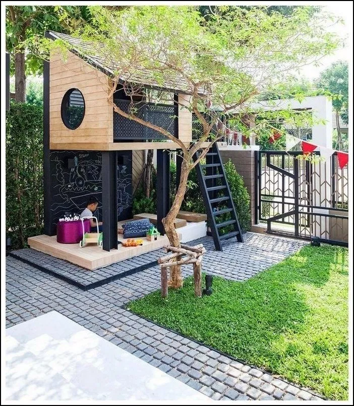 117+ outdoor space ideas to pin right now  page 20   Home Inc is part of Tree house kids -