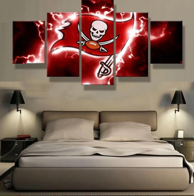 Tampa Bay Buccaneers Wall Art Cheap For Living Room Wall Decor Tampa Bay Buccaneers Cheap Wall Art Football Canvas
