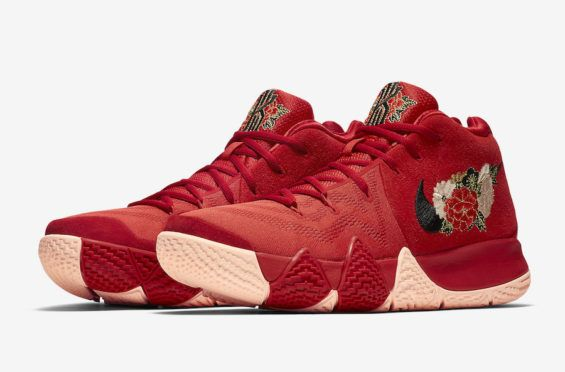 Official Images  Nike Kyrie 4 CNY The Nike Kyrie 4 BHM will be releasing on 0fffa8bc5
