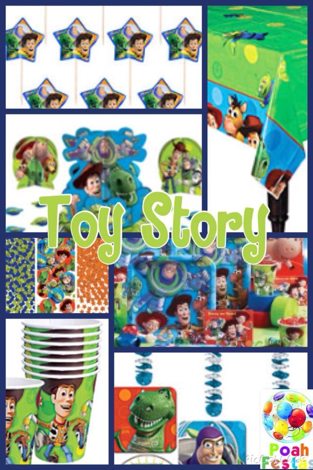 Decoracao completa toy story nas lojas Poah Festas www.poahfestas.com