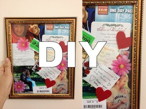 Diy memory collage great gift idea or decor my youtube videos diy memory collage great gift idea or decor solutioingenieria