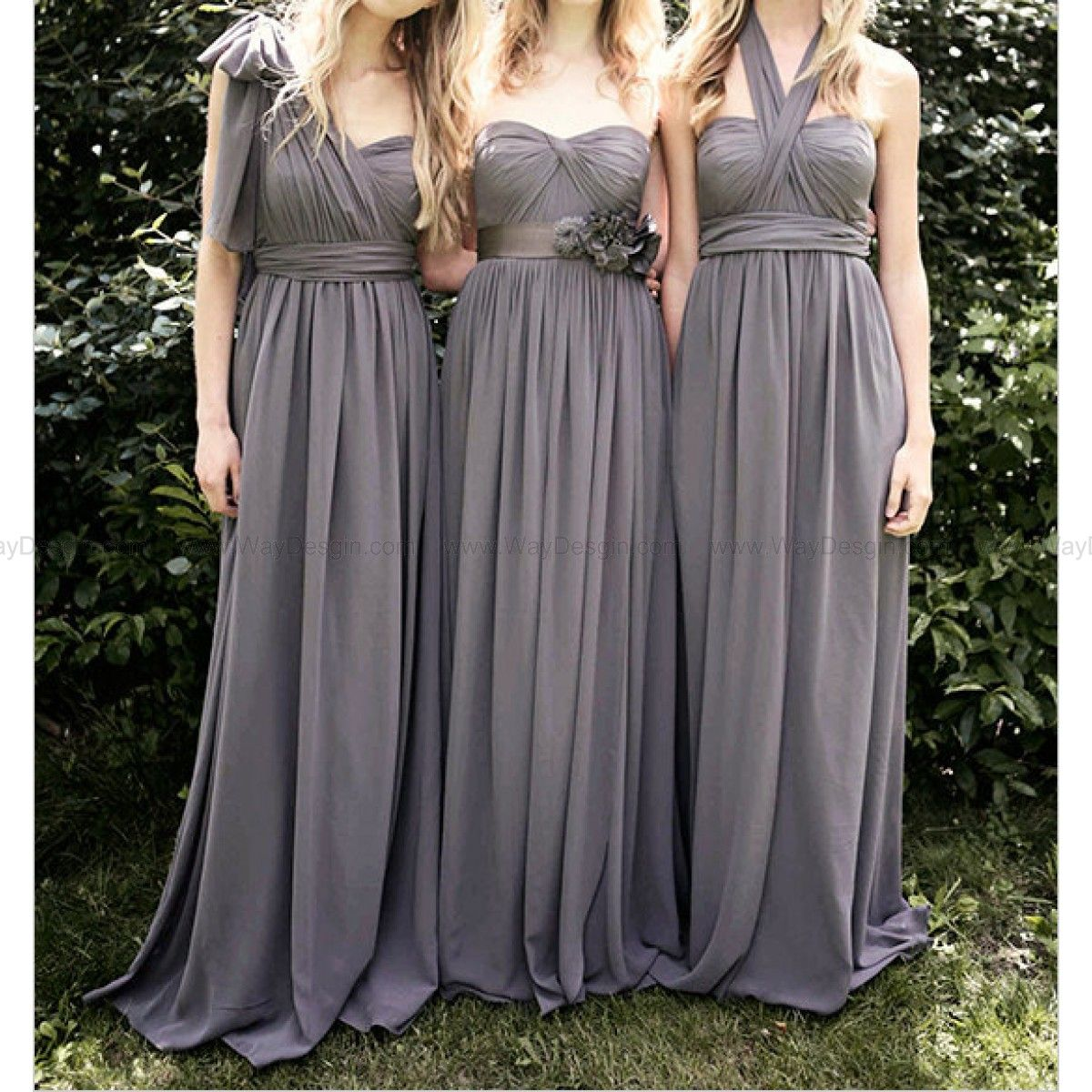 Convertible bridesmaid dresses long chiffon bridesmaid dresses cheap dress pumpkin buy quality dresses occasion directly from china dress after suppliers convertible grey bridesmaid dress muticolored chiffon beach ombrellifo Images