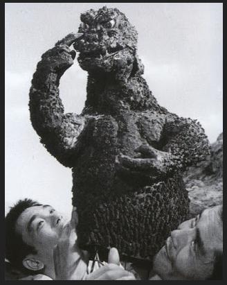 Godzilla movie behind the scenes