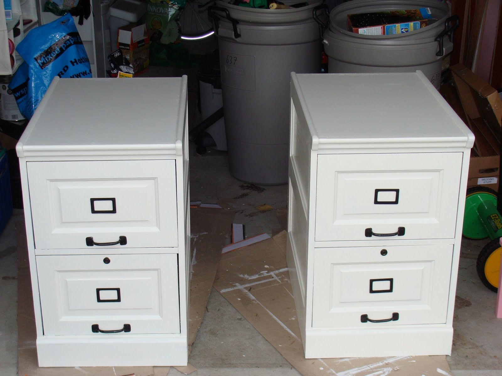 Ikea Hackers Pottery Barn Inspired Desk Transformation Ideasoffice Ideasfiling Cabinetsikea Filing Cabinetwooden