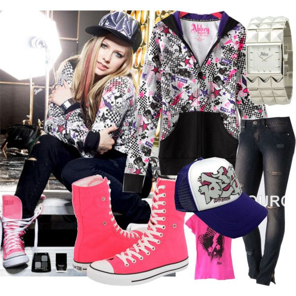 Avril Lavigne 39 S Style Abbey Dawn Clothing Line