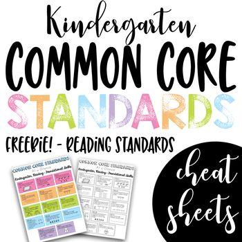 e1bcdd53e459e0a2402fba0c44c16c76 - Kindergarten Common Core Standards Reading