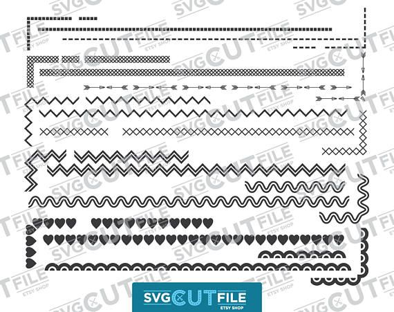 Wavy lines svg, squiggly lines svg, wavy line svg, dotted