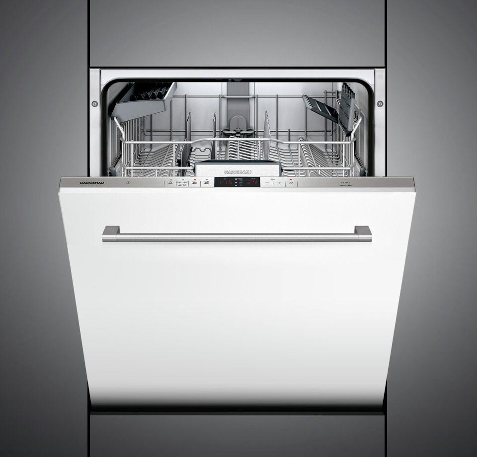 Df 241 Dishwasher From Gaggeneau Gaggenau Integrated Dishwasher Dishwasher